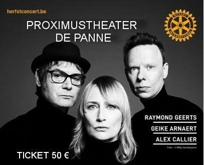 HOOVERPHONIC tickets  https://herfstconcert.events.vlaanderen/index.htm